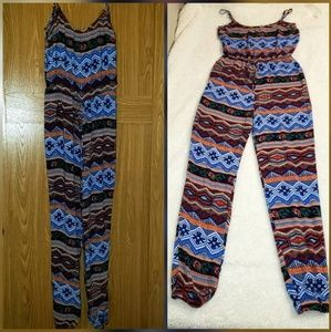 Other - 4/$25 Spaghetti strap Jumpsuit Rue 21 size Small